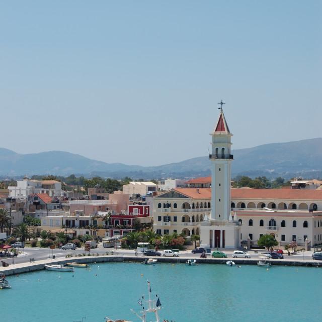 """island of zakynthos greece"" stock image"