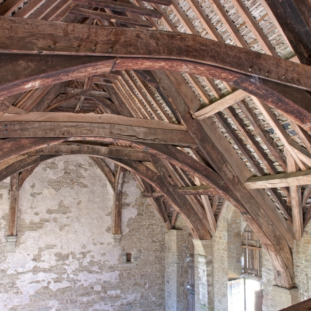 """Stokesay Castle"" stock image"