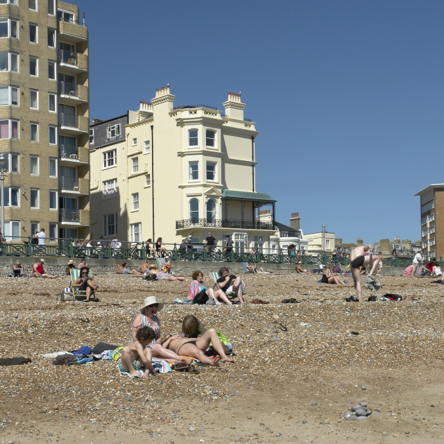 """Hove, Sussex"" stock image"