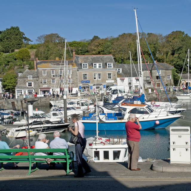 """""""Padstow, Cornwall"""" stock image"""
