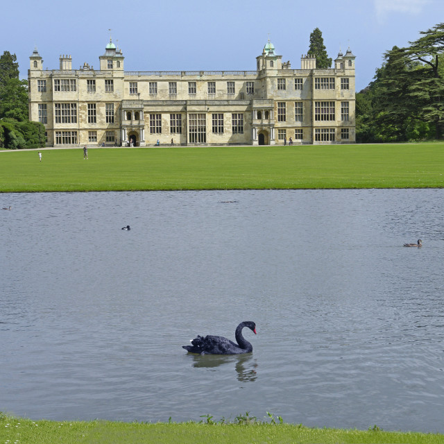 """""""Audley End House"""" stock image"""