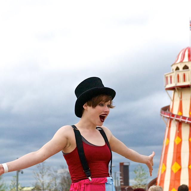 """Queen Elizabeth Olympic Park"" stock image"
