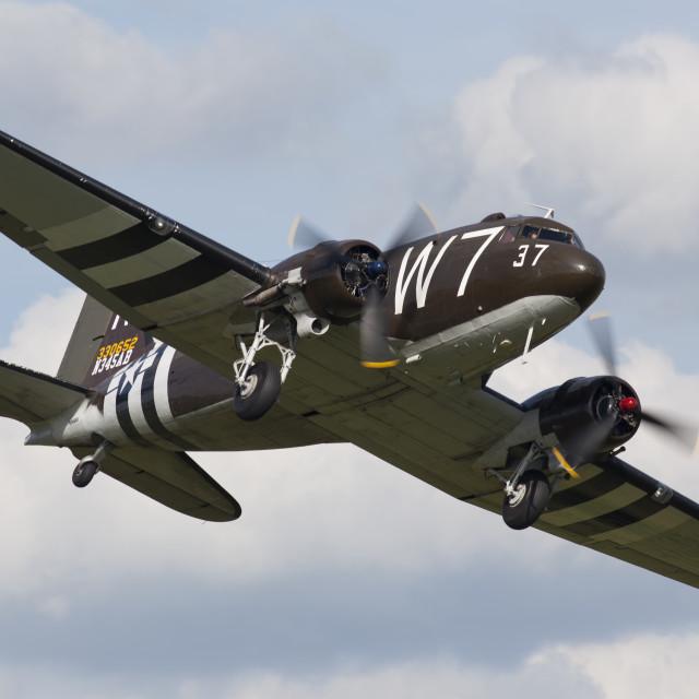 """C-47 Skytrain"" stock image"