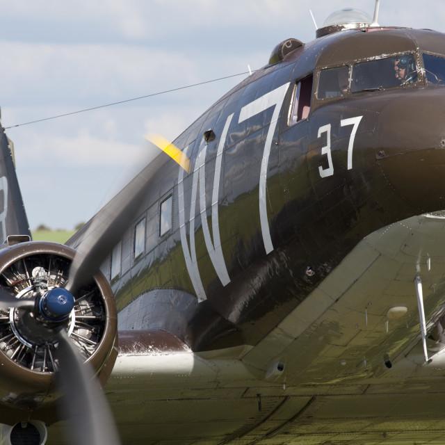 """C-47, Skytrain"" stock image"