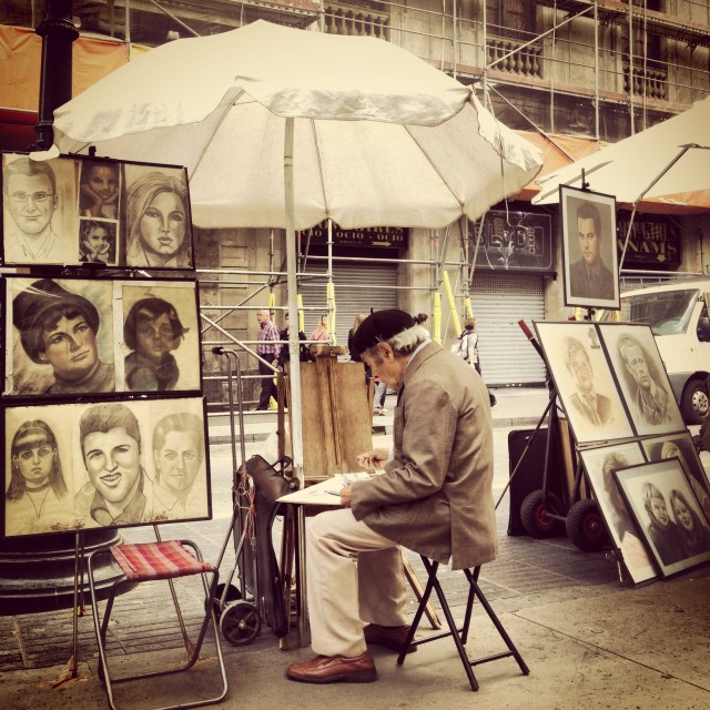 """Street Drawing"" stock image"