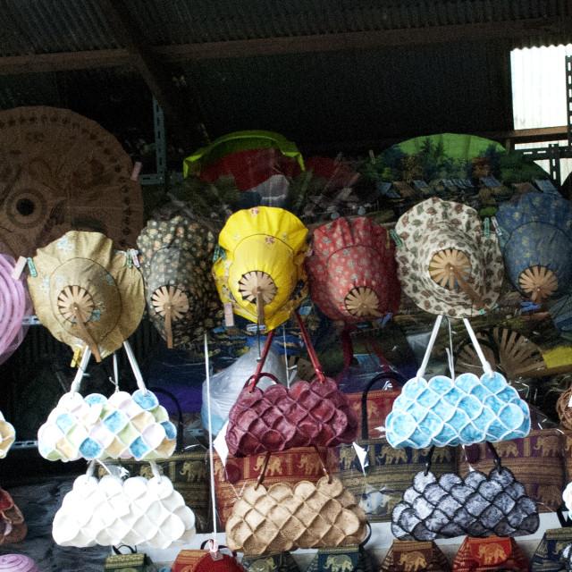 """Thai handbags"" stock image"