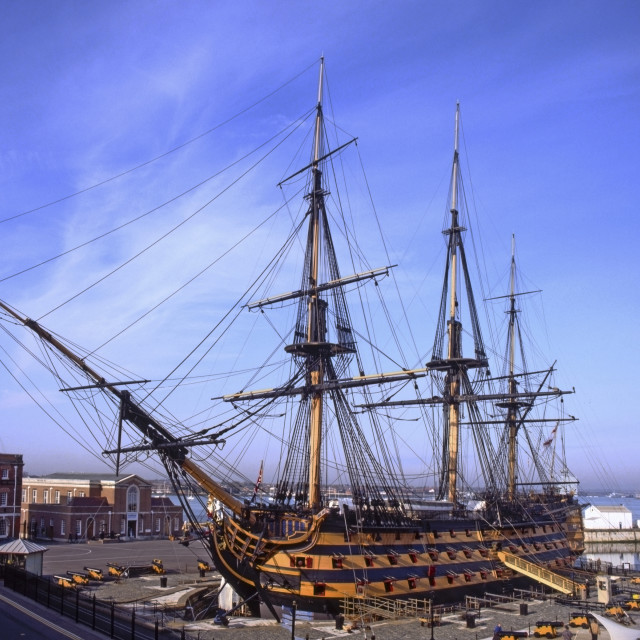 """HMS Victory, Portsmouth"" stock image"