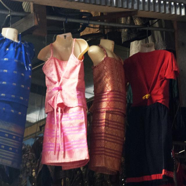 """Thai Dresses"" stock image"