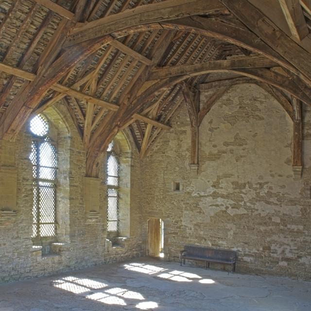 """Stokesay Castle,"" stock image"
