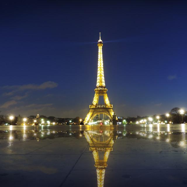 """""""Paris night"""" stock image"""