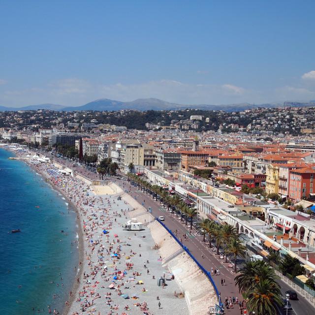 """""""Nice beach"""" stock image"""