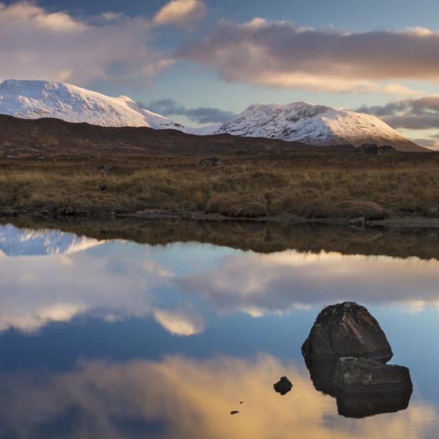 """Lochan Na Stainge"" stock image"