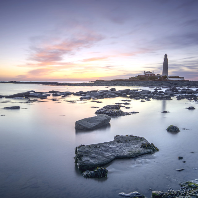 """Dawn at St Mary's"" stock image"