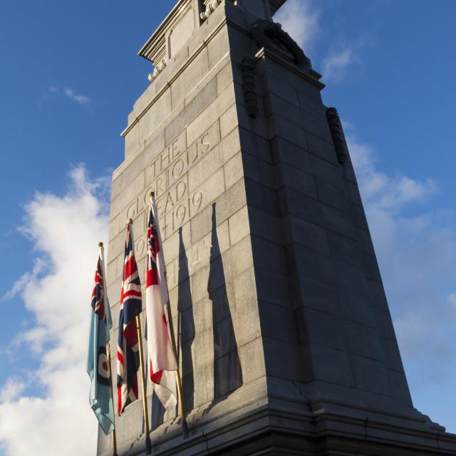 """""""British War Memorial"""" stock image"""