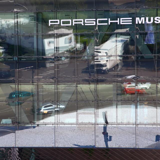 """Porsche Museum #1"" stock image"