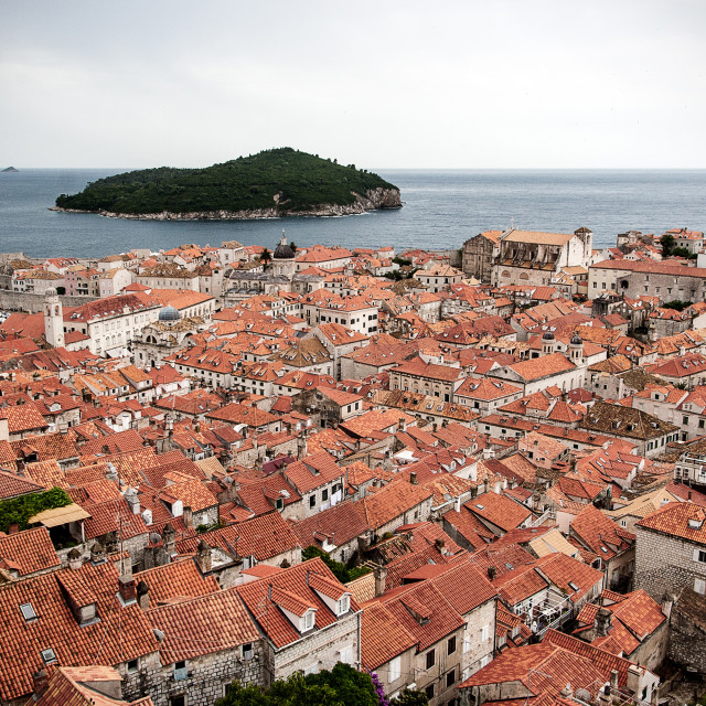 """Dubrovnik, old town"" stock image"