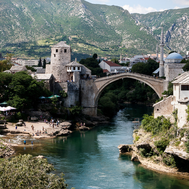 """Mostar, Bosnia and Herzegovia"" stock image"