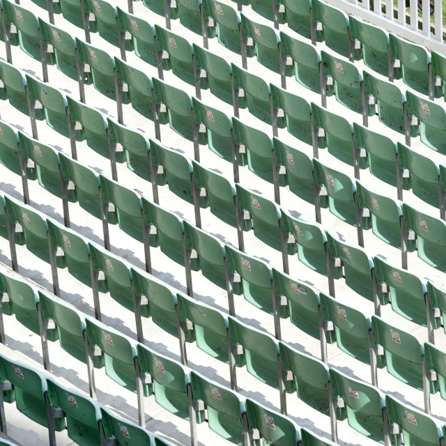 """empty seats"" stock image"