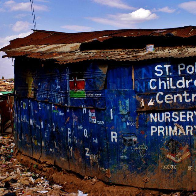 """Kibera nursey"" stock image"