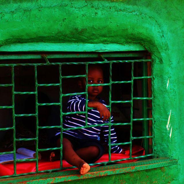 """Boy of Kibera"" stock image"