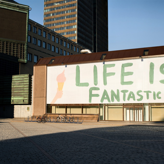 """""""Life is fantastic"""" stock image"""