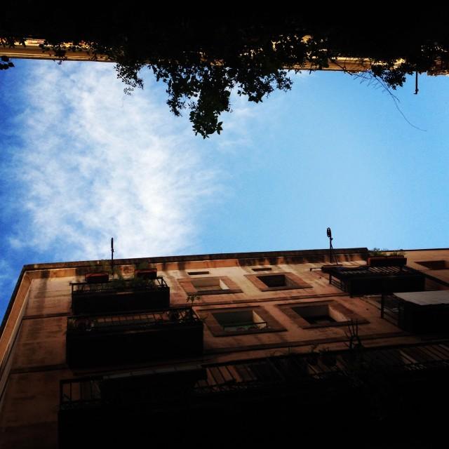 """Barcelona Sky"" stock image"