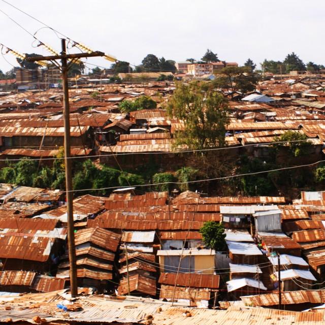 """""""Kibera Panoramic"""" stock image"""