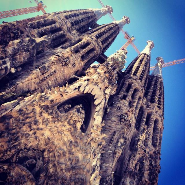 """Sagrada Familia"" stock image"