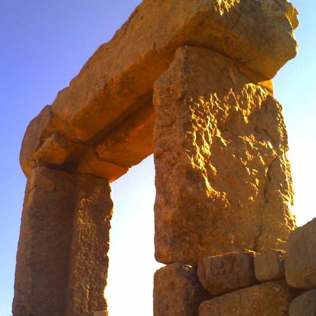 """""""Stone doorway"""" stock image"""