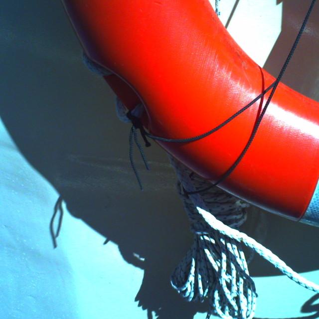 """Buoyancy Aid"" stock image"