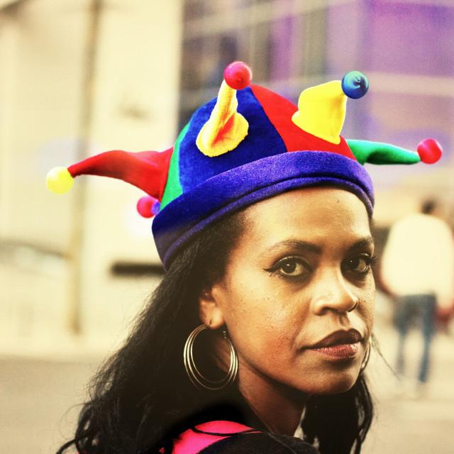 """crazy hat"" stock image"