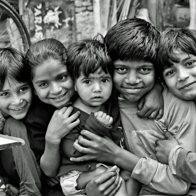 """UDAIPUR KIDS"" stock image"