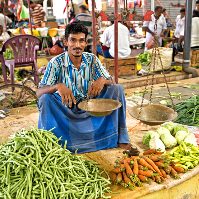 """""""THE GREENGROCER"""" stock image"""