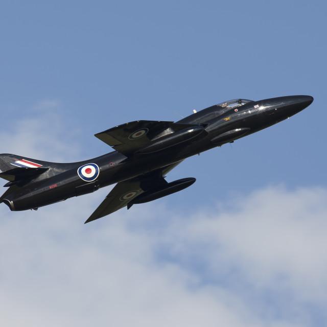 """Hawker Hunter"" stock image"