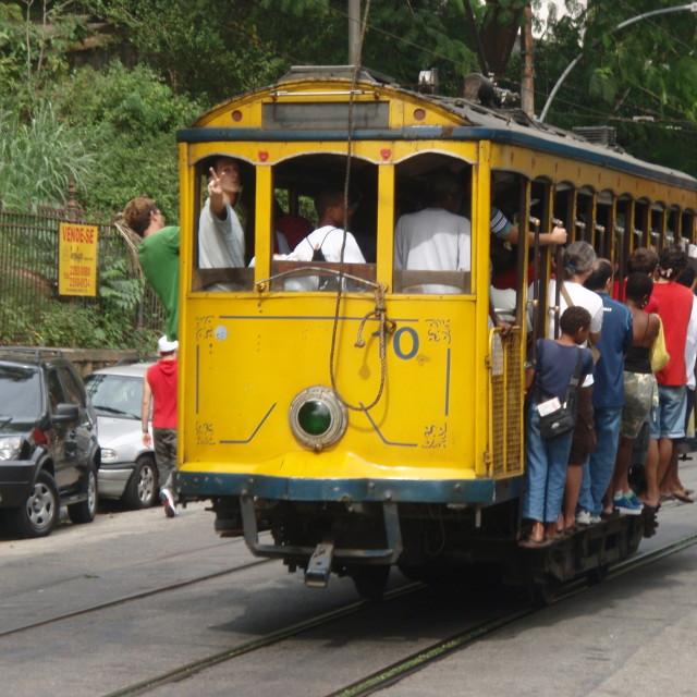 """""""Santa Theresa Tram"""" stock image"""