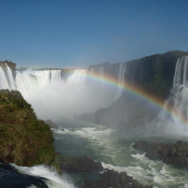 """Iguasu Falls"" stock image"