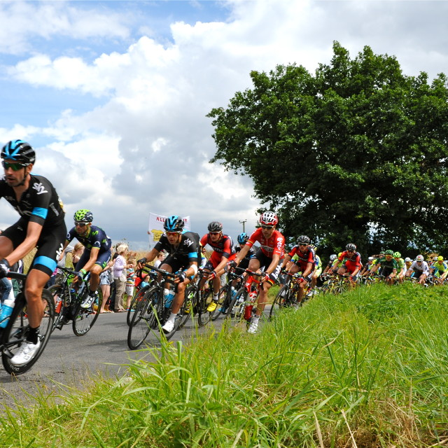 """Le Tour in Essex"" stock image"