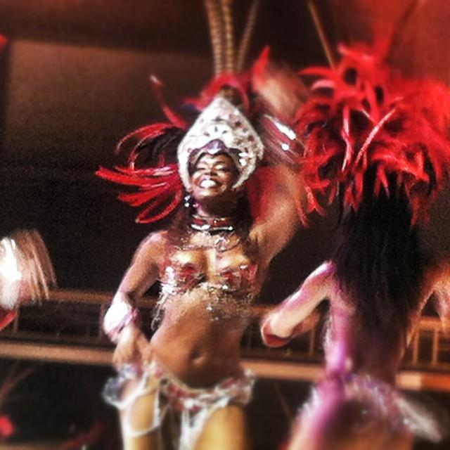 """Brazilian Dancer"" stock image"
