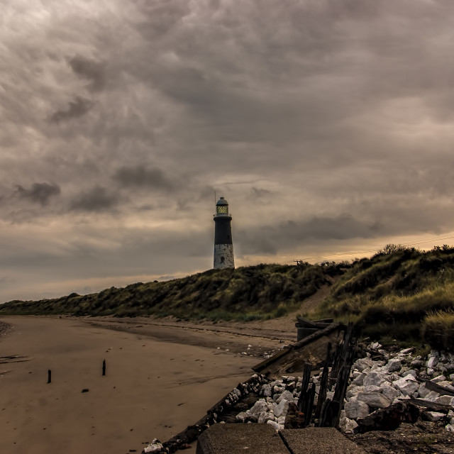 """""""The Beach Spurn Point"""" stock image"""
