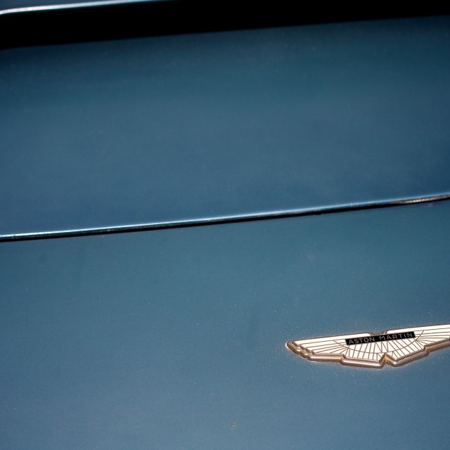 """Aston Martin Badge"" stock image"