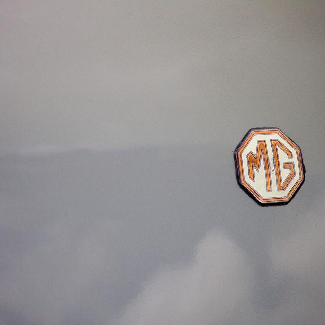 """""""MG"""" stock image"""