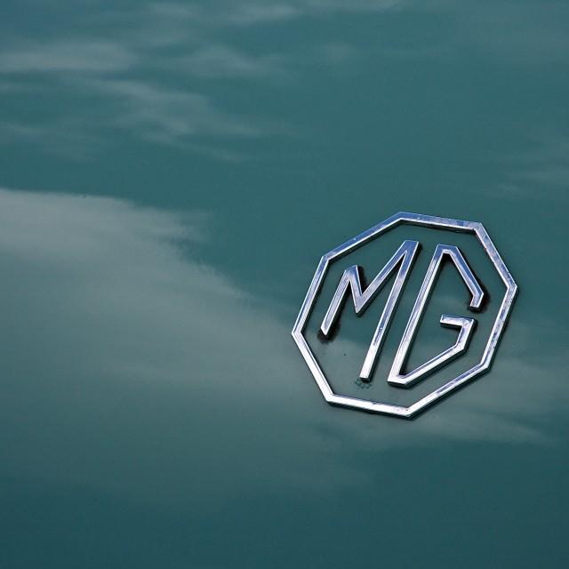 """""""Teal MG"""" stock image"""