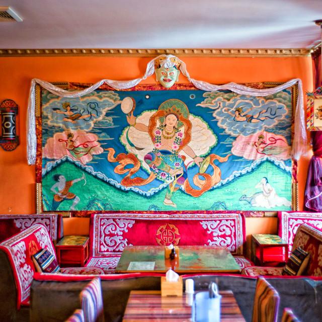 """Tibetan restaurant"" stock image"