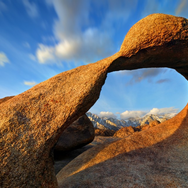 """Mobius/Rowell Arch"" stock image"