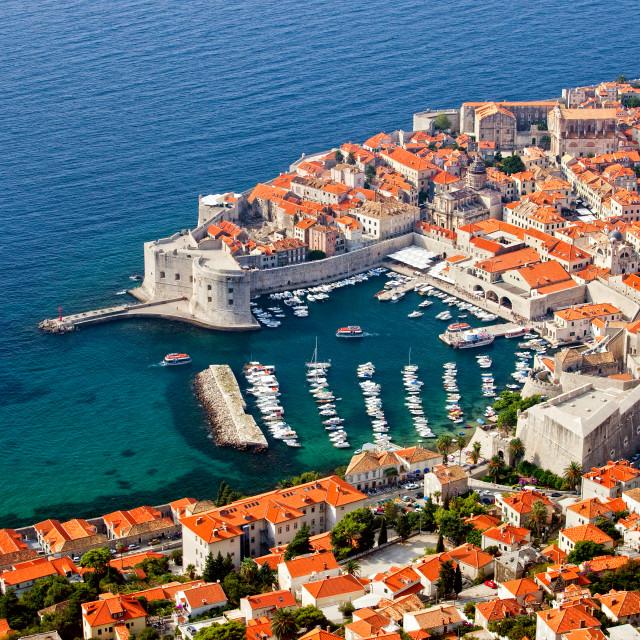 """Dubrovnik Old City"" stock image"