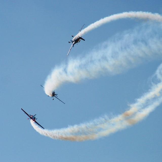 """""""Aerial acrobatics"""" stock image"""