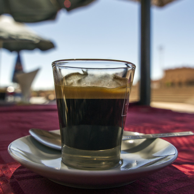 """Moroccan Coffee"" stock image"
