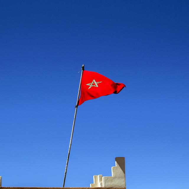 """Moroccan Flag"" stock image"