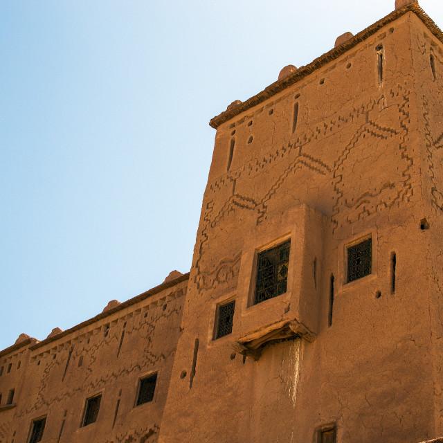 """Ouarzazate (Door to the Desert)"" stock image"