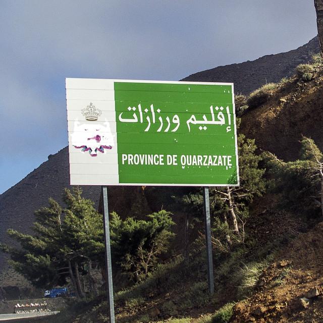 """""""Province De Ouarzazate"""" stock image"""